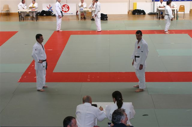 Vous naviguez dans les images de l'article : Passages de grades à Lyon 2007